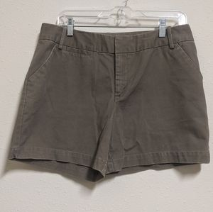 3for$20 merona jeans shorts brown gray size 10